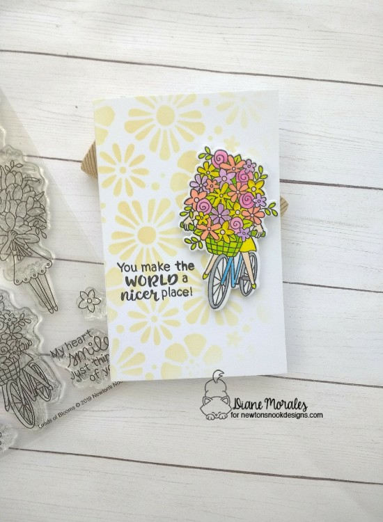A nicer place by Diane features Loads of Bloom and Bold Bloom by Newton's Nook Designs; #newtonsnook