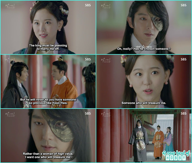 Yeon hwa told 4th prince that King arranging her wedding - Moon Lovers: Scarlet Heart Ryeo - Episode 5 Review