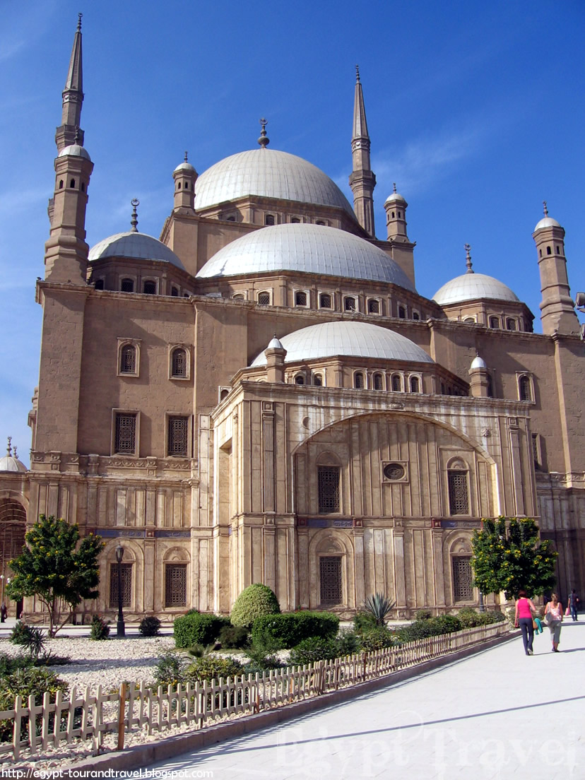 Egypt Travel: The Mosque Of Muhammad Ali Or The Albaster