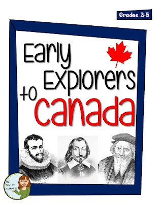 Read about the education system in British Columbia, Canada, learn about explorers with this product & download a FREE resource about Canadian symbols!