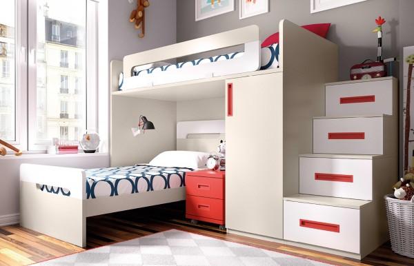 Blog dormitorios juveniles valencia dormitorios juveniles - Habitacion con literas para ninos ...