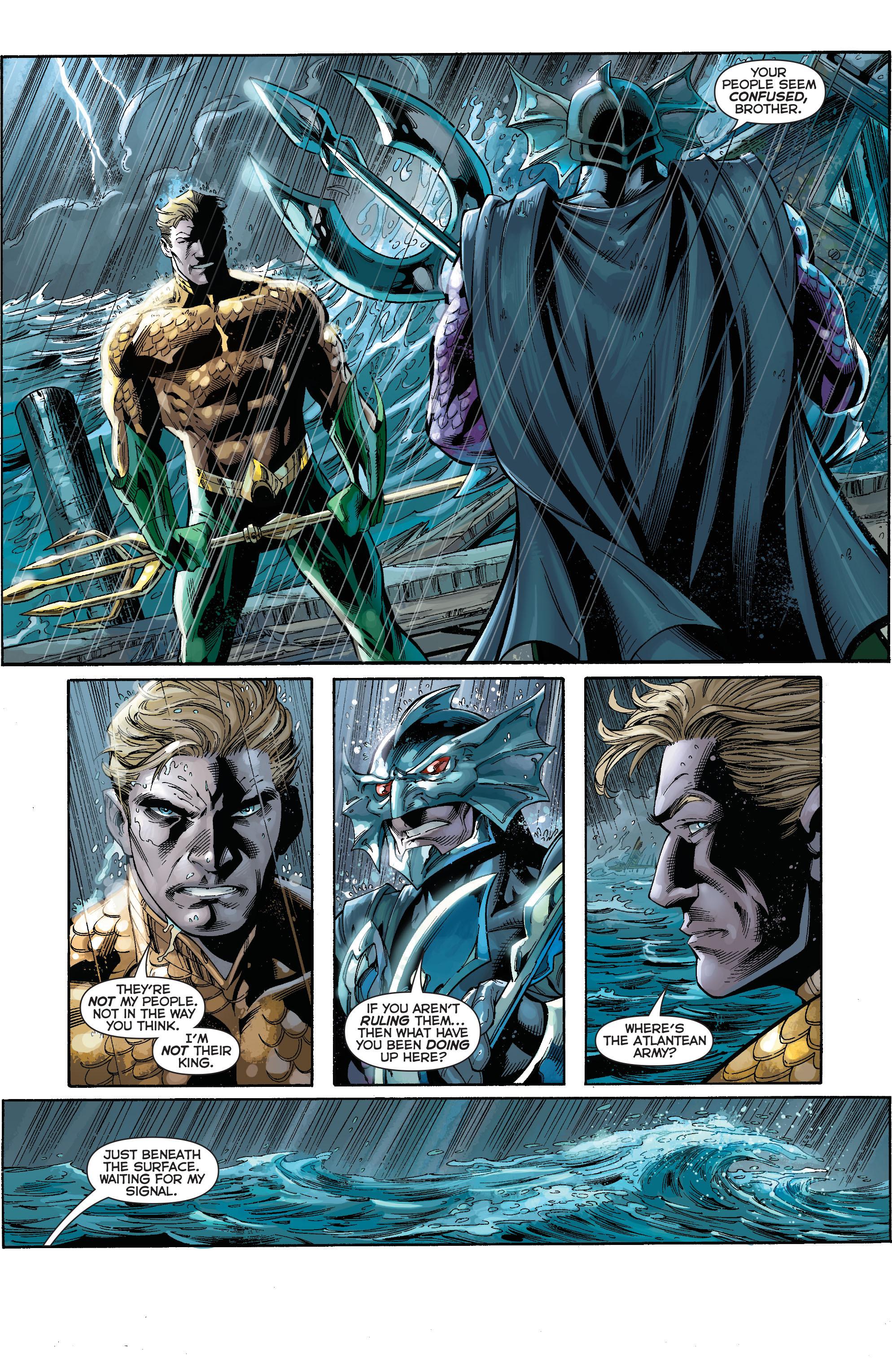 Read online Aquaman (2011) comic -  Issue #15 - 20