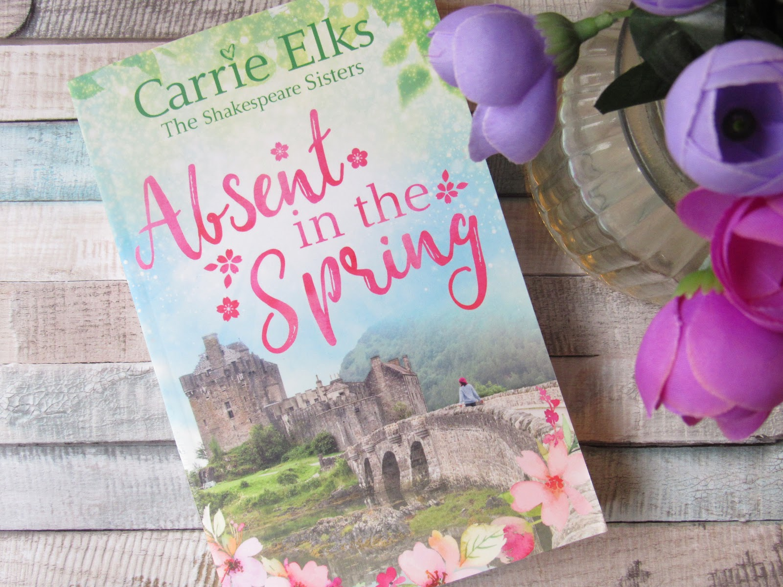 Paperback book of Absent In The Spring By Carrie Elks