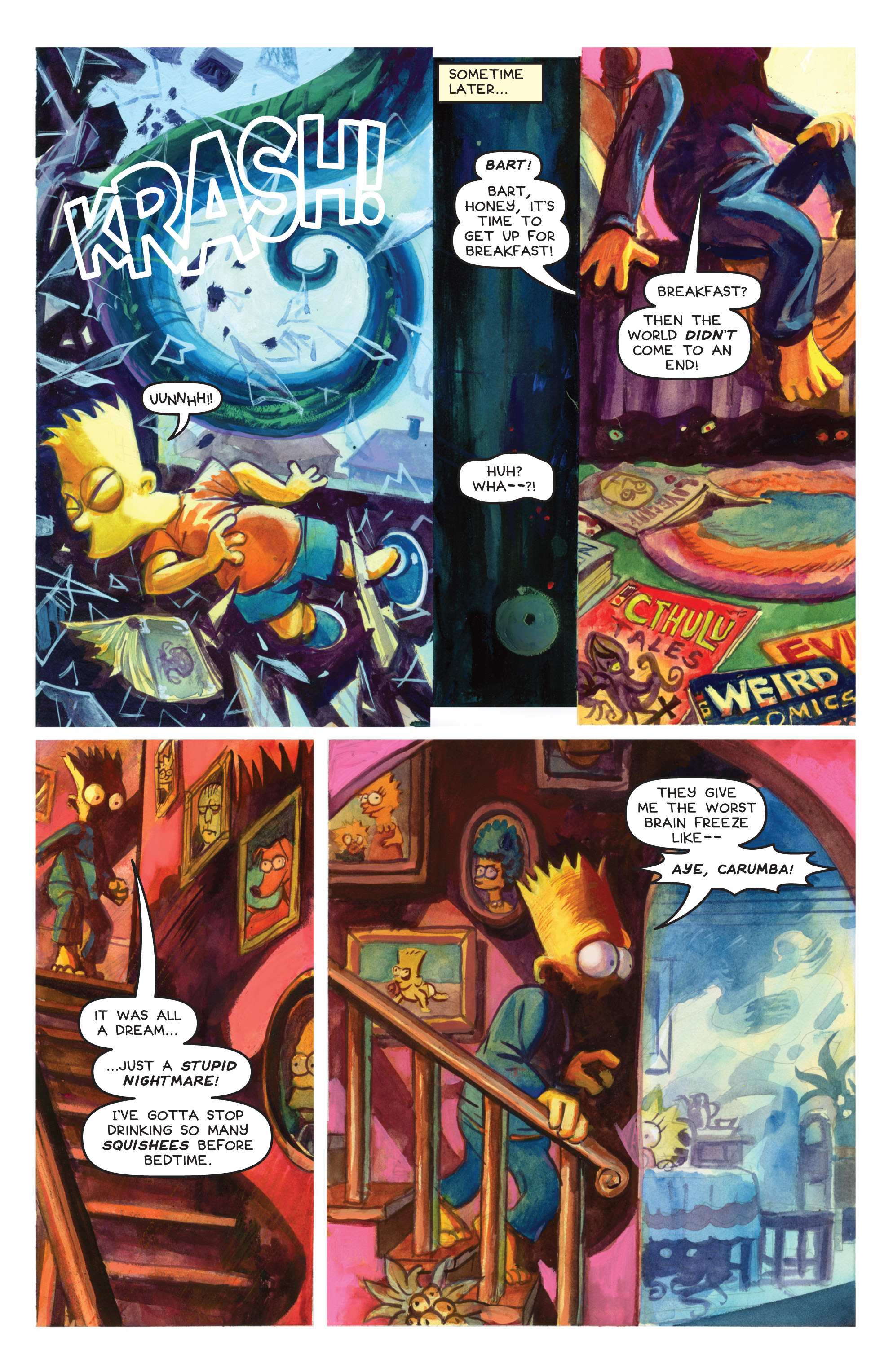 Read online Treehouse of Horror comic -  Issue #19 - 41
