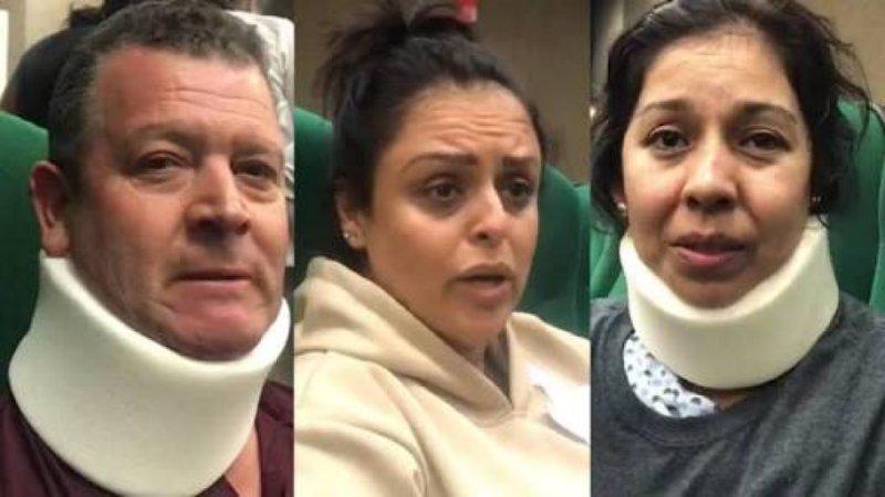"""""""Un rayo le pego al avión"""", pasajeros del vuelo de Aeroméxico dan su testimonio. #VIDEO"""