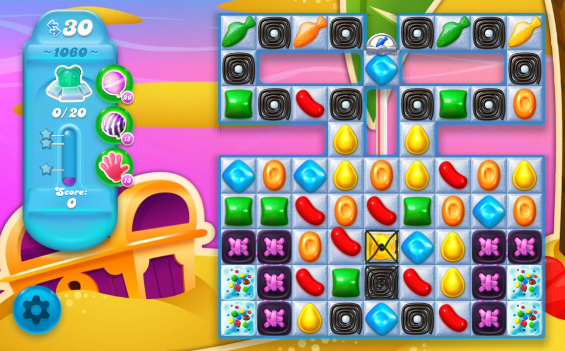 Candy Crush Soda Saga level 1060