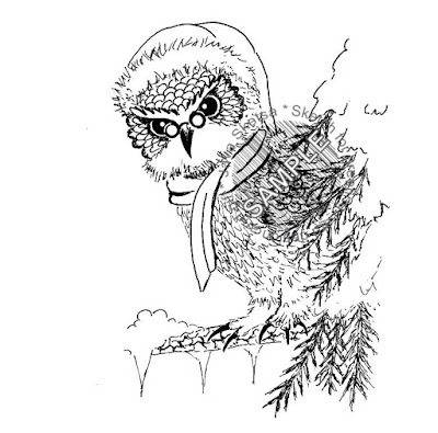 The Owl on Christmas Day 02