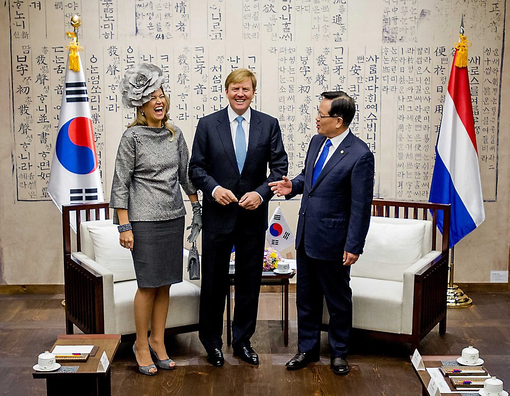 Dutch King and Queen State Visit South Korea day 2