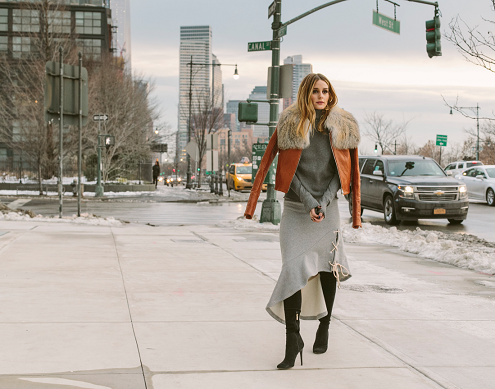 NYFW Street Style Olivia Palermo