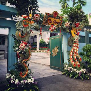 mẫu cổng hoa cưới đẹp nhất 13
