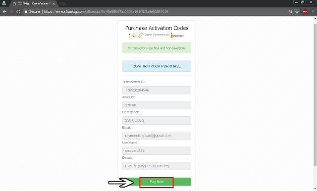 Secret2success S2S Purchase Code Activation