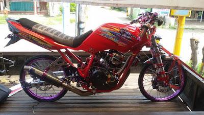 Modifikasi Motor Kontes Scorpio Z