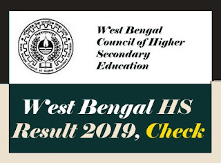 West Bengal 12th Result 2019, WB 12th Result 2019, West Bengal Higher Secondary Result 2019