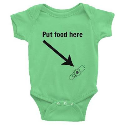 Put Food Here G Tube bodysuit