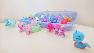 Hatchimals CollEGGtibles Season three ( 3 ) from Spinmaster review on Us Two Plus You - All our Hatchimals together