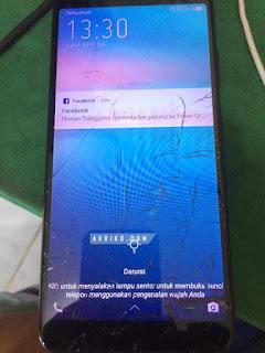 Ganti LCD Infinix Hot 6 Pro X608 di Infinix Care Cellular World Denpasar