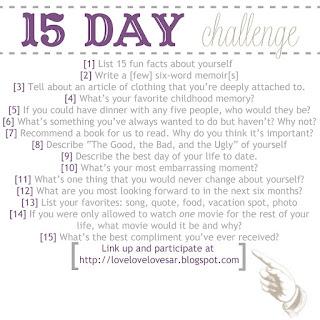 Tantangan menulis blog dalam 15 hari
