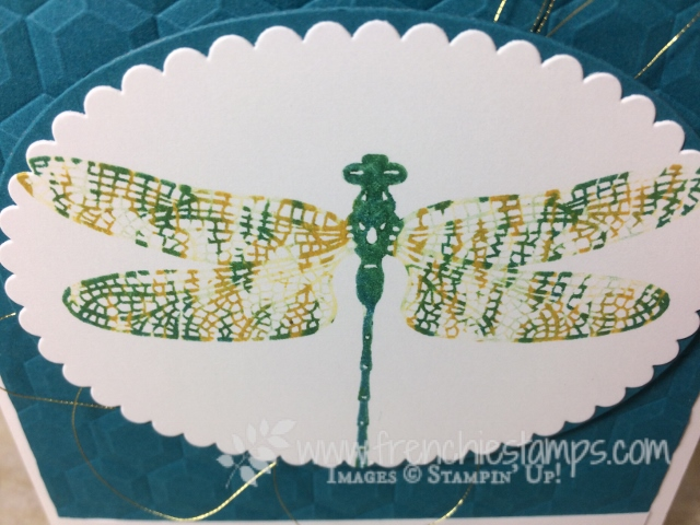Stamping 101 TechniqueThumping, Dragonfly Dream, Stampin'Up!