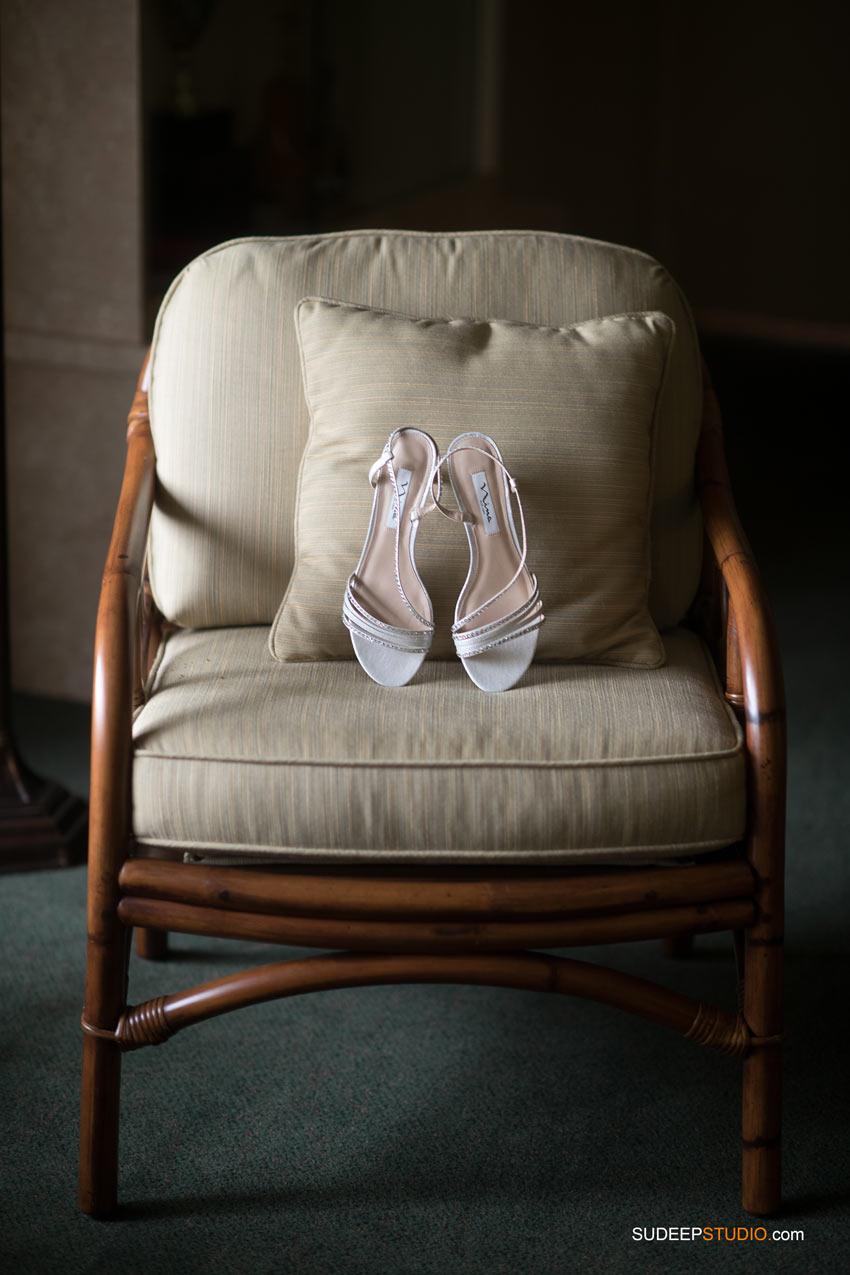 Wedding Shoes Grosse Isle Wedding by SudeepStudio.com Ann Arbor Wedding Photographer