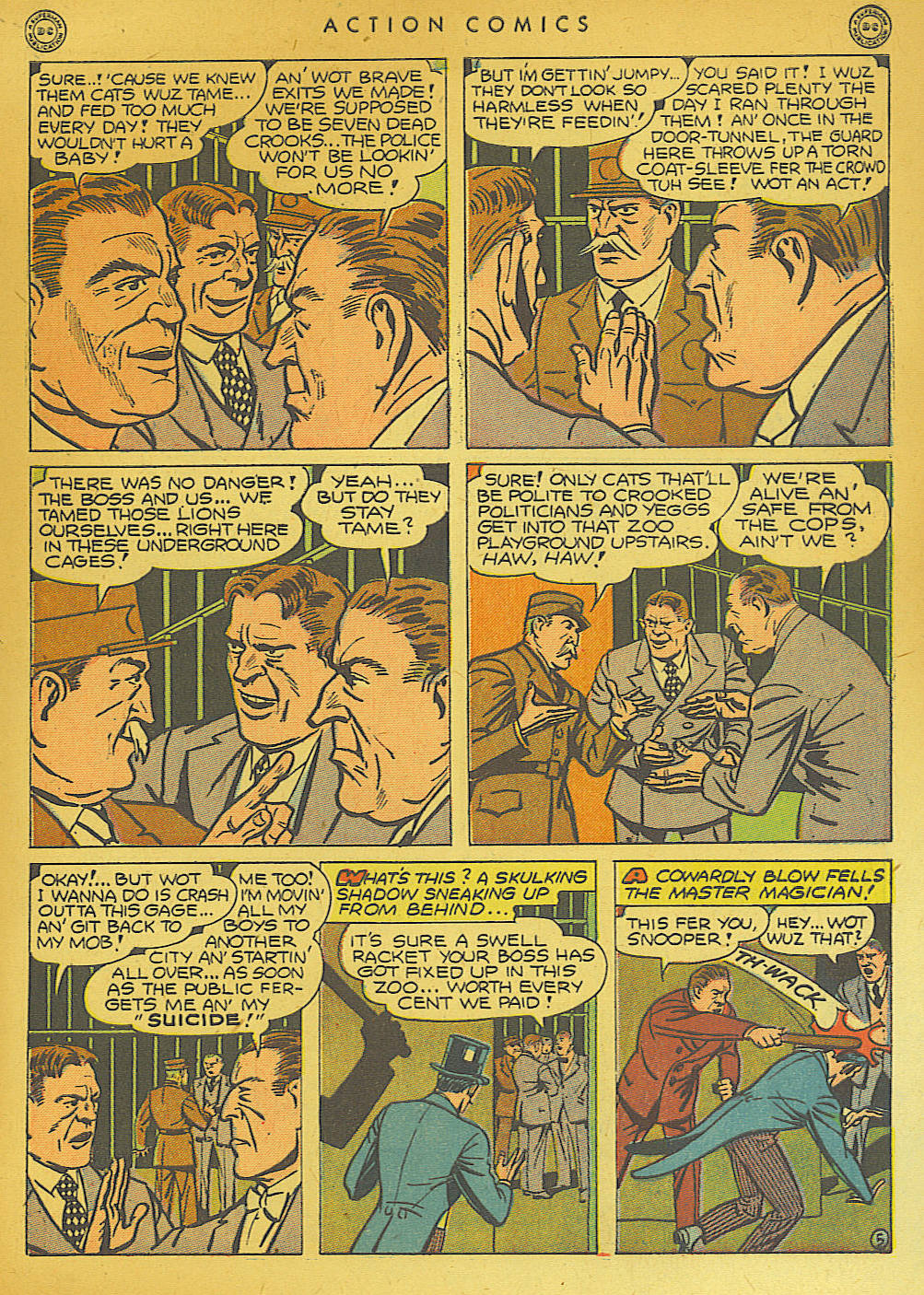 Read online Action Comics (1938) comic -  Issue #74 - 55