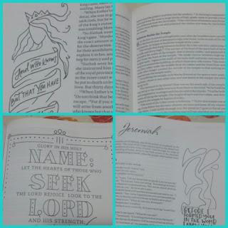 NIV Beautiful Word™ Coloring Bible for Girls  sample