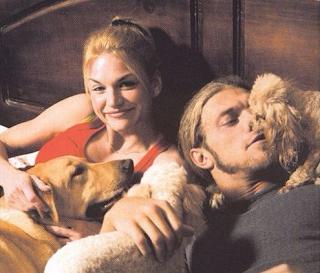 Foto Edge dengan istri pertamanya Alana Morley