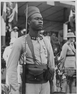 French African Colonial Infantryman