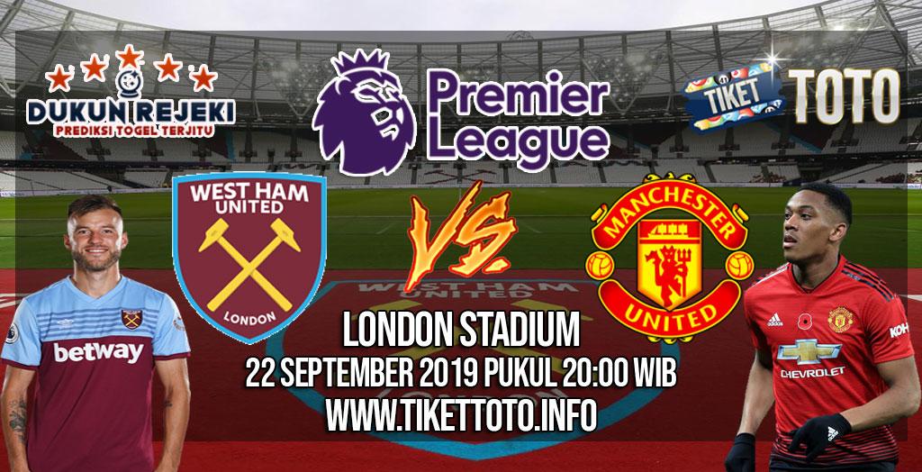 Prediksi West Ham United VS Manchester United 22 September 2019