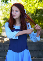 Ariel's Blue Sightseeing Dress Tutorial by Artfully Alexa