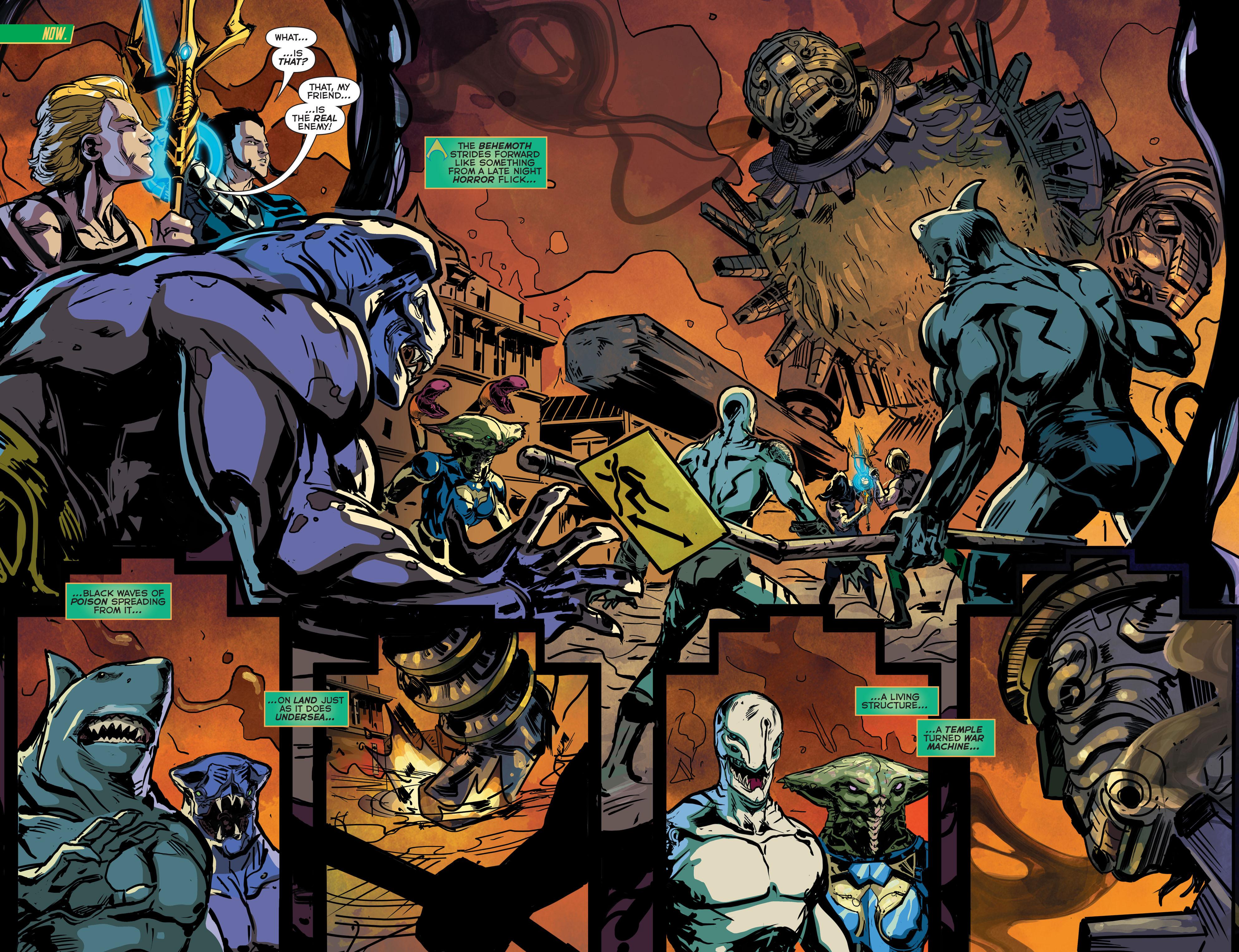 Read online Aquaman (2011) comic -  Issue #43 - 7