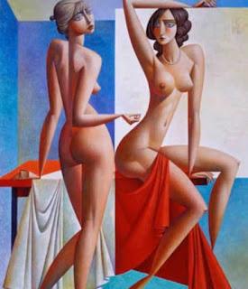 cuadros-de-mujeres-cubismo-color
