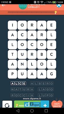 WordBrain 2 soluzioni: Categoria Foresta (5X6) Livello 1