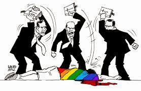 Resultado de imagem para PERSEGUIDORES DOS HOMOSSEXUAIS