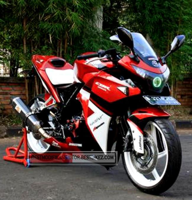 modifikasi cbr 250 cc3  terbaru