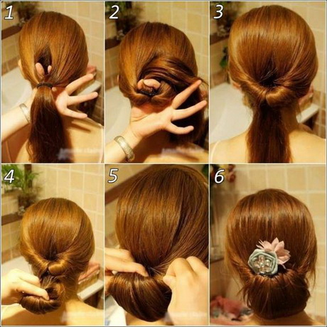 Step By Easy Updos For Prom