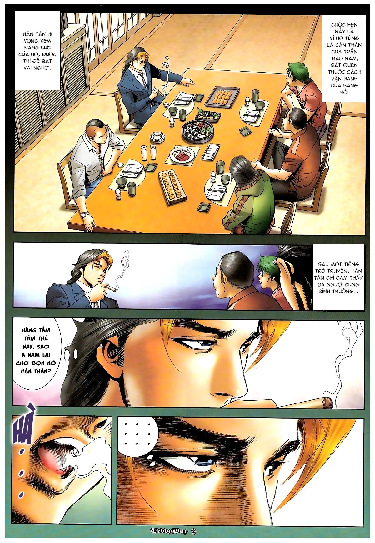 Người Trong Giang Hồ - Chapter 1244: Mắt Hí - Pic 8