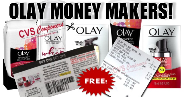 HUGE OLAY CVS MONEY MAKERS!