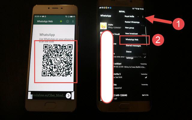 شاهد كيفية اختراق واتساب صديقك بسهولة وشاهد جميع رسائلك على هاتفك بهذا التطبيق الجديد وبسهولة