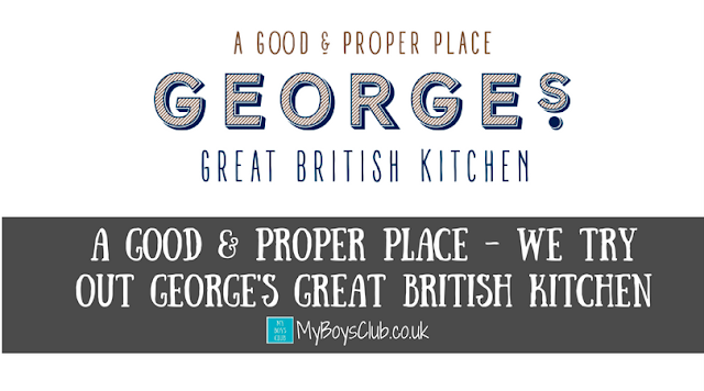A Good & Proper Place - food review of George's GBK Newcastle