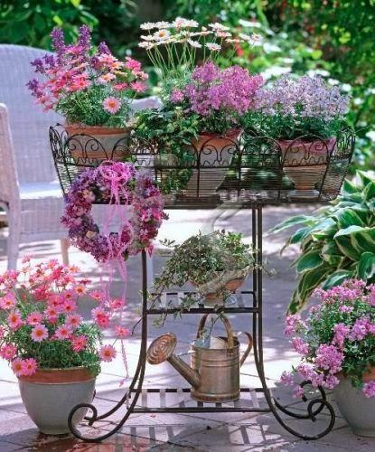 jardines en macetas