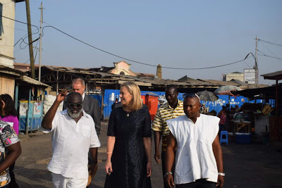 Photos : Dutch Minister Of Foreign Trade And Development Cooperation Visits Ghana