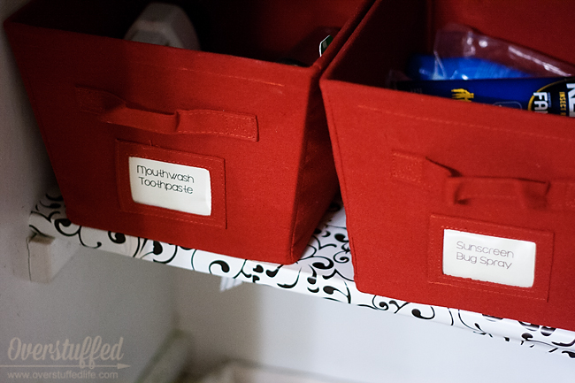 Want to stay organized? Label things!