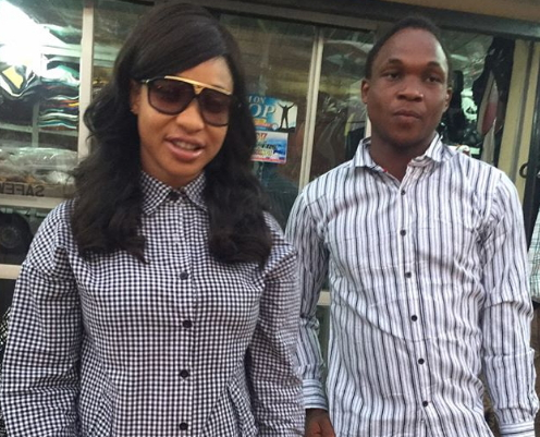 tonto dikeh rescues accident victims abuja