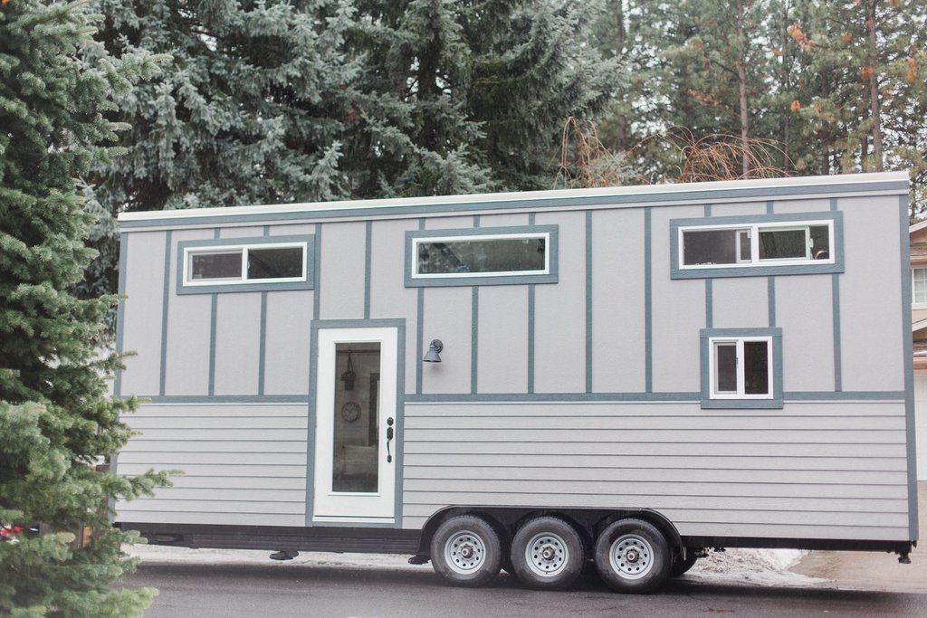 Tiny House Town Luxury Spokane Tiny House 339 Sq Ft