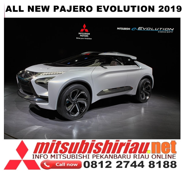 All New Pajero Sport Evolution 2019 Pekanbaru Riau