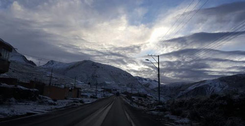 Alerta por nevadas en La Paz, Oruro, Cochabamba y Tarija