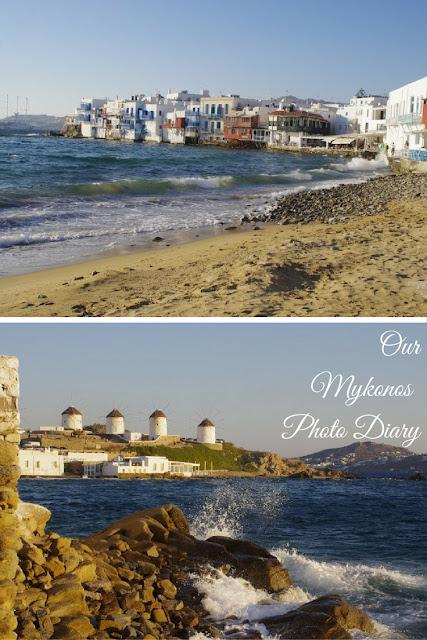 Our Mykonos Photo Diary