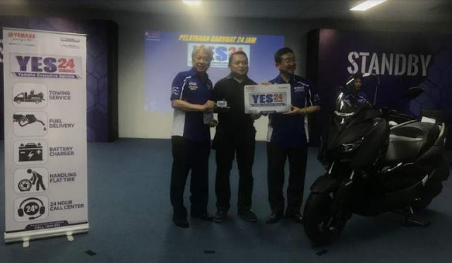 Yamaha Excecutive Service 2019