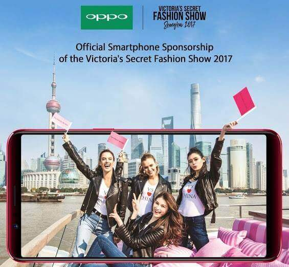 OPPO Is Victoria's Secret Fashion Show 2017 Official Smartphone Sponsor