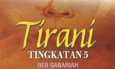 Nilai dan Contoh Novel Tirani
